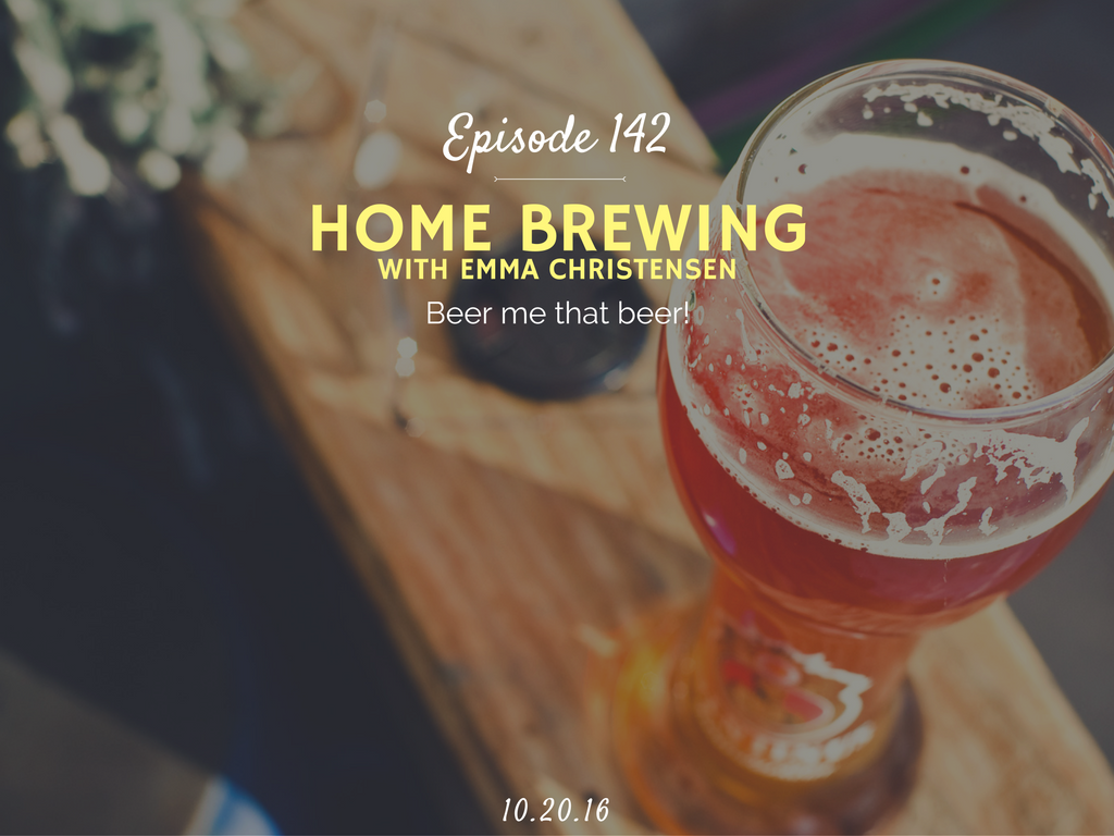 how to home brew beer interview with emma christensen