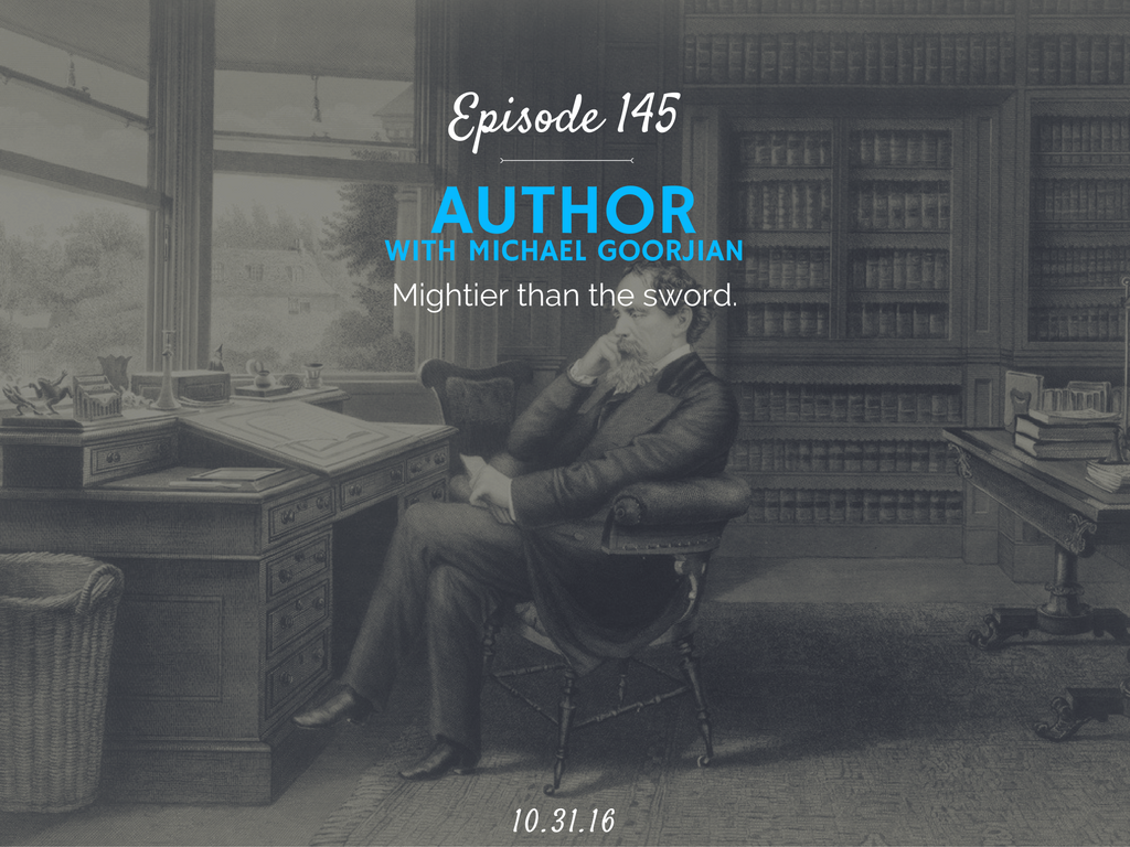 how to become an author with Michael Goorjian