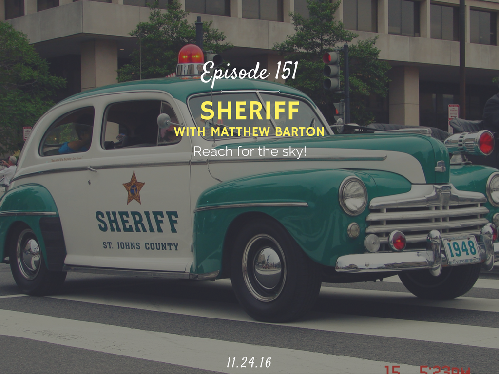 what is it like to be a sheriff interview