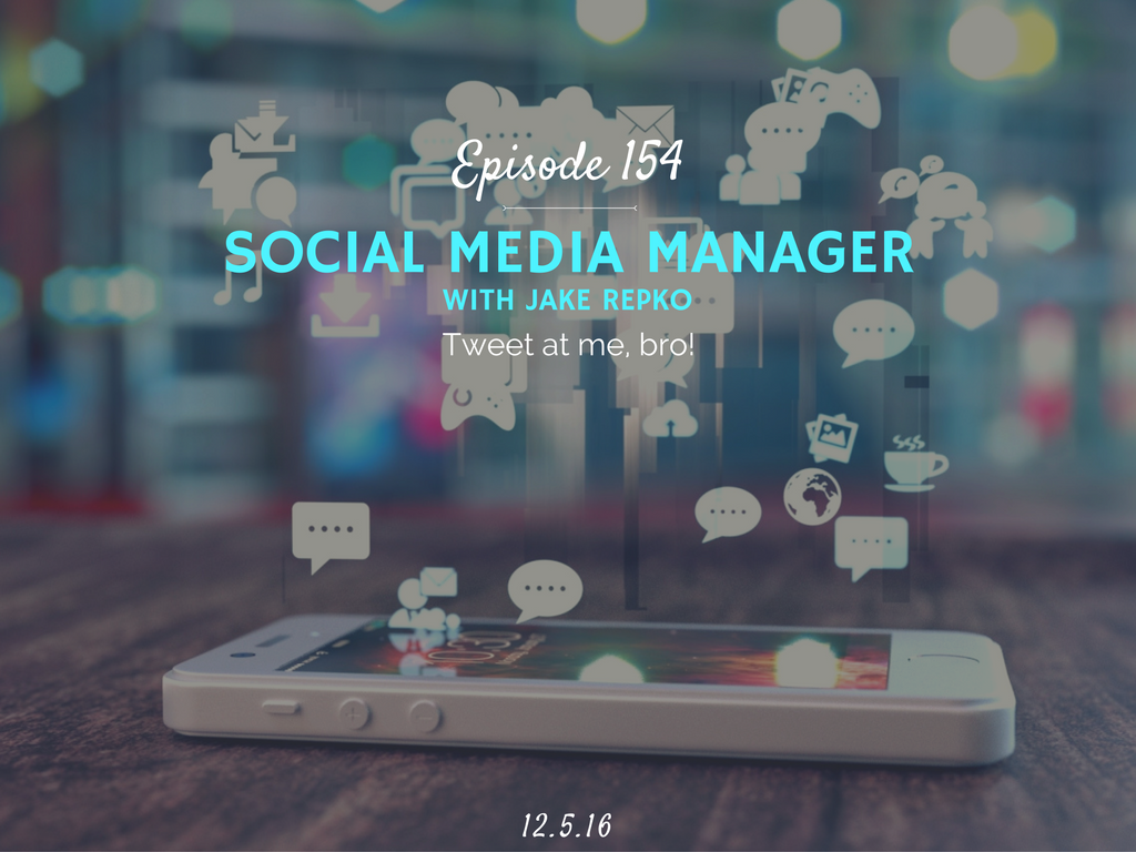 how to become a social media manager interview with jake repko