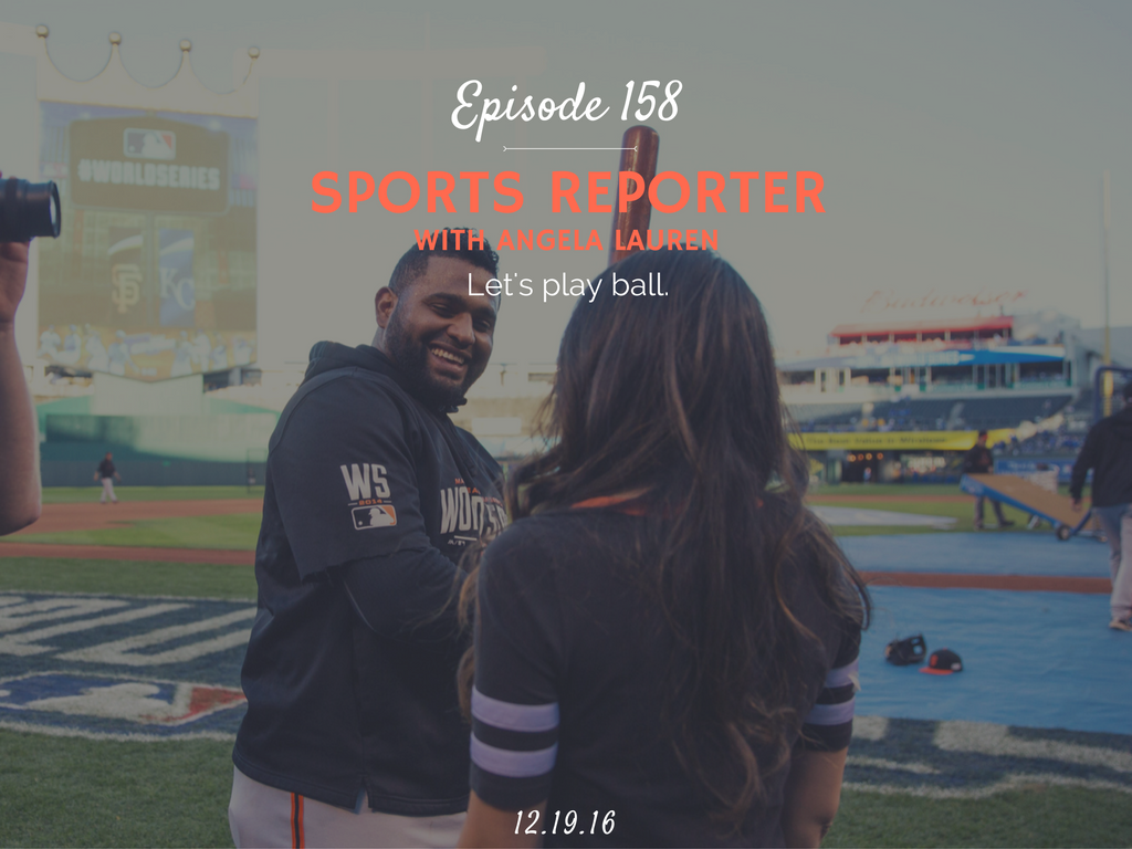 how to become a sports reporter interview