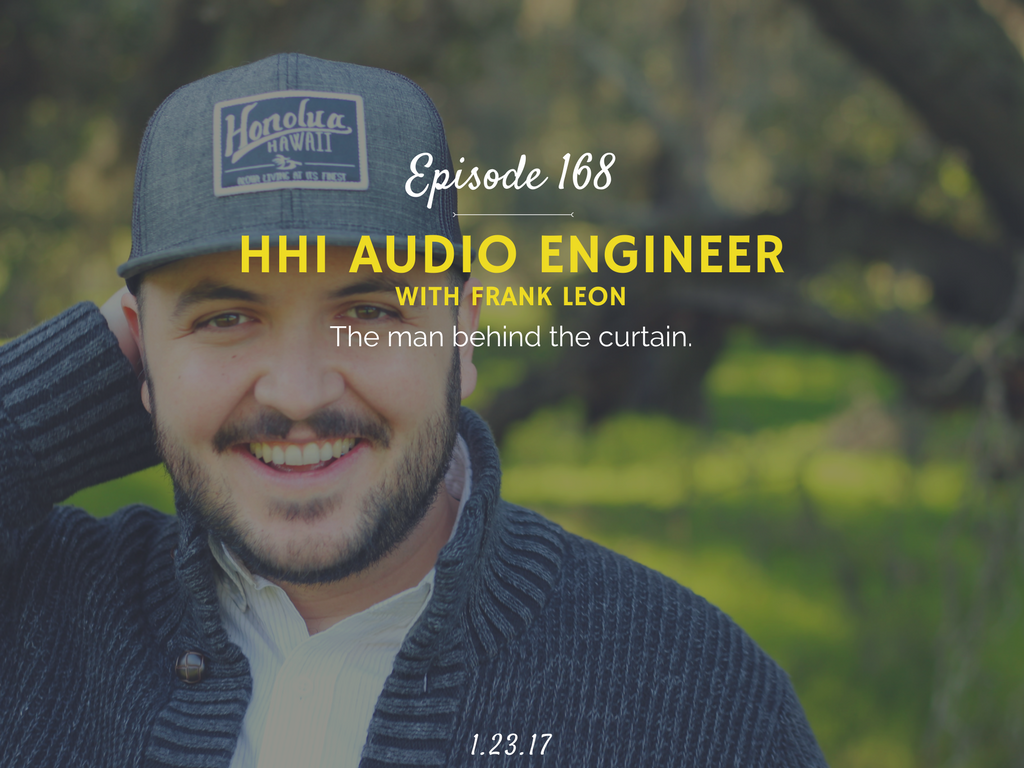 how to be an audio engineer interview with frank leon