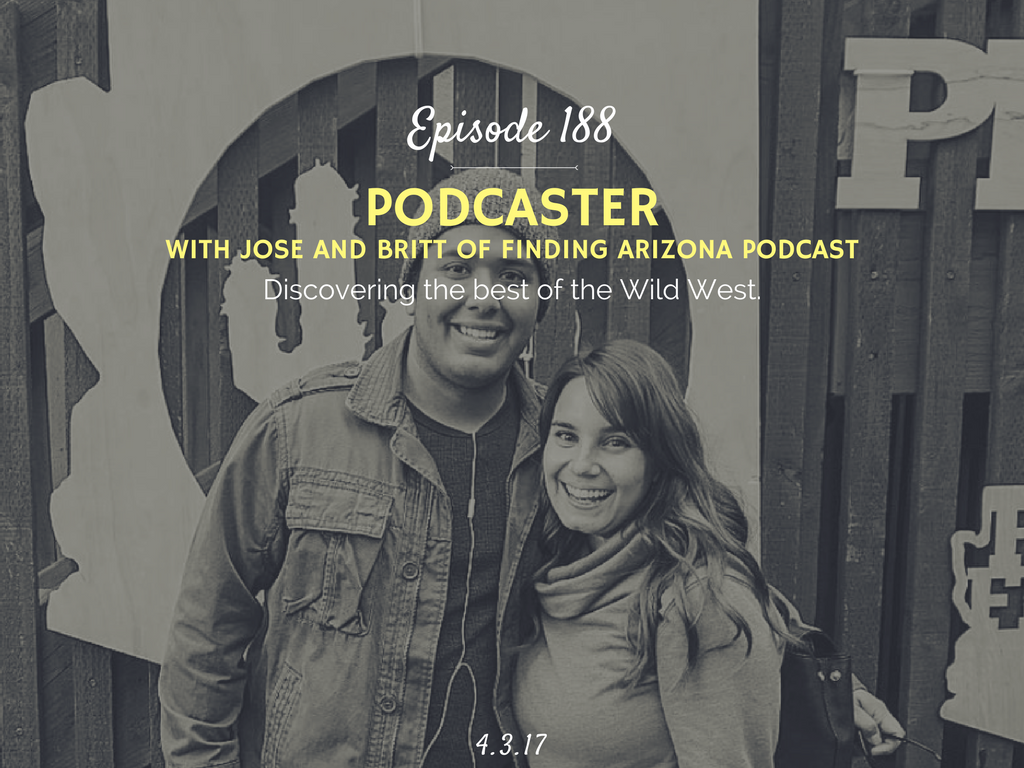 how to become a podcaster interivew with finding arizona podcast