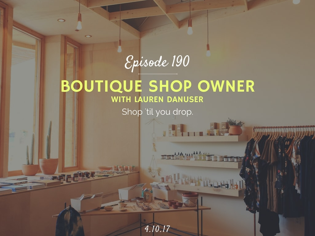 how to open your own shop podcast interview