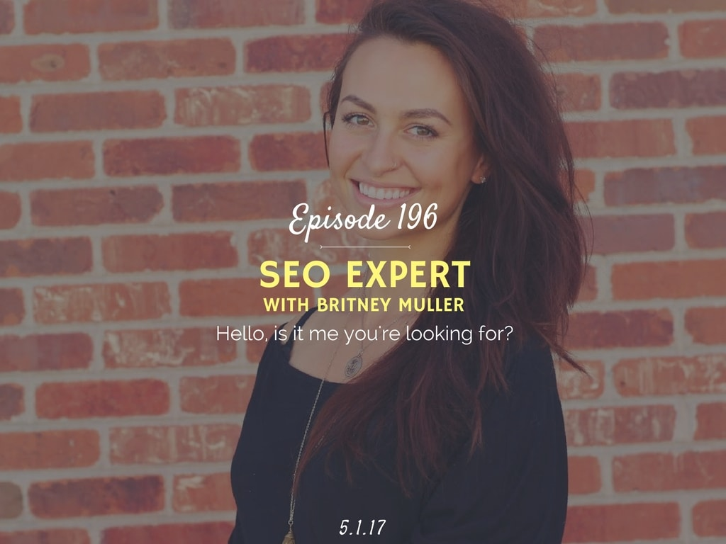 How to get started with SEO podcast interview with Britney Muller