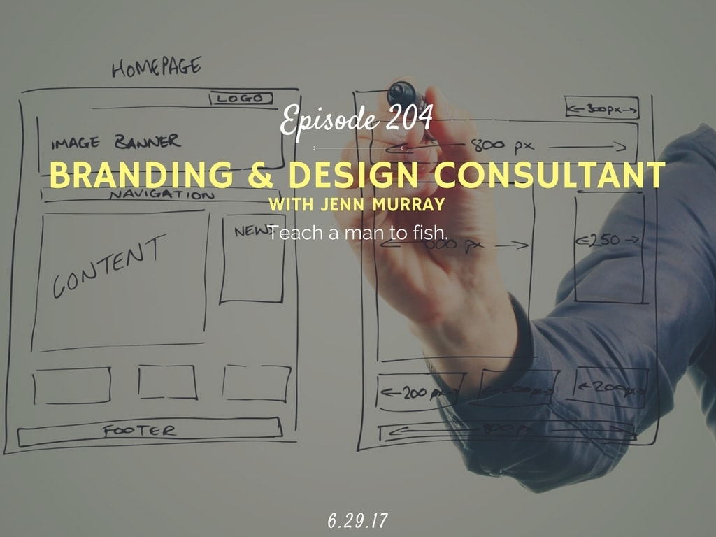 how do DIY your own web design interview with jenn murray