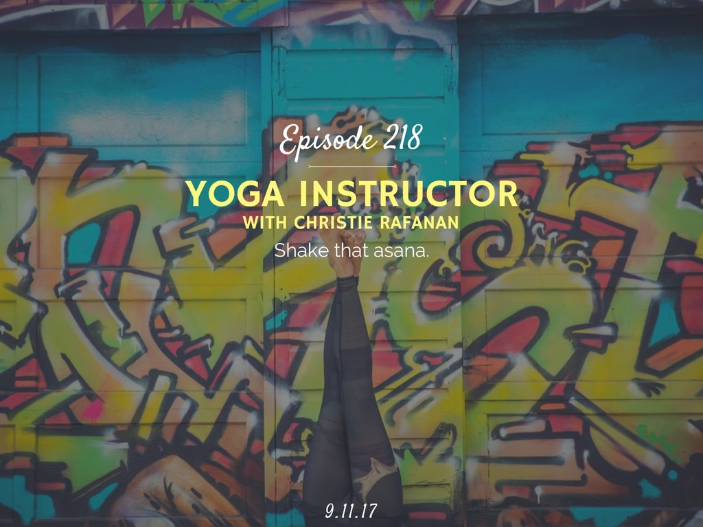 How to become a yoga instructor podcast interview