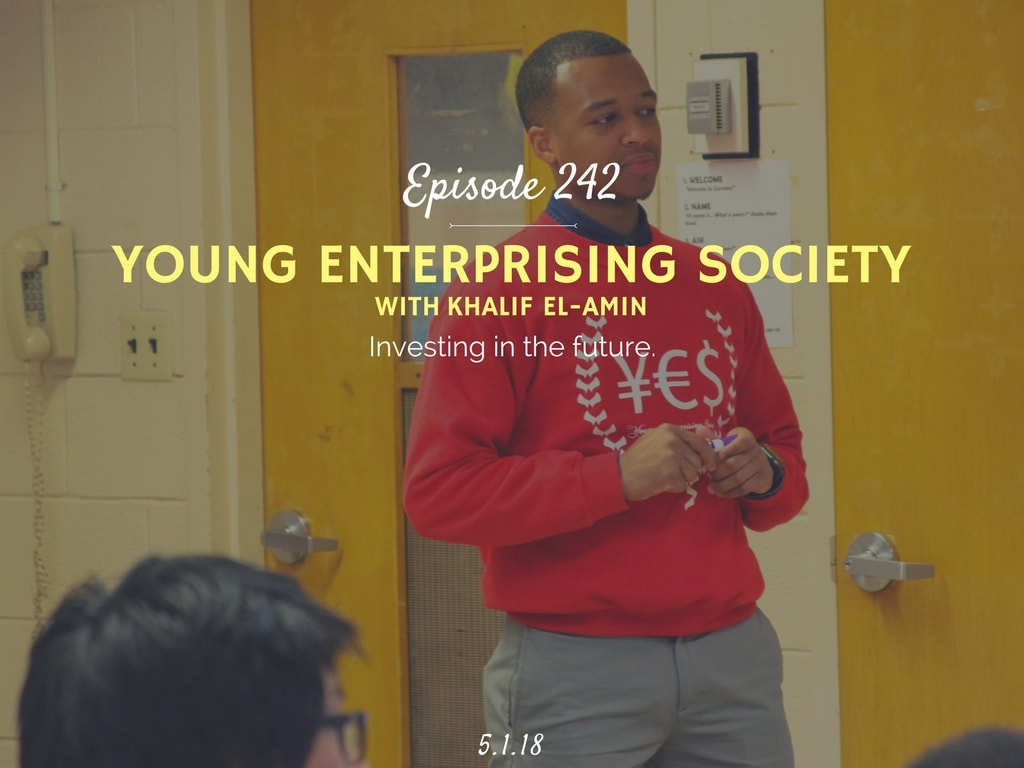 Podcast interview with Young Enterprising Society founder
