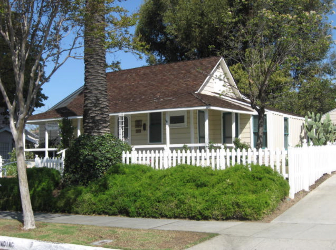 "The ""Bailey House"" is located at 13421 E Camilla St. It is the home of the first Whittier settler, Jonathan Bailey, and was built in 1860. It was deeded to the City of Whittier in 1975 and was added to the National Register of Historic Places in 1977. The Bailey House is currently run and operated by the Whittier Historical Society. For the complete history of the home, go to http://www.whittiermuseum.org/Bailey%20House.html. Open to the public Sundays, 1pm – 4pm."