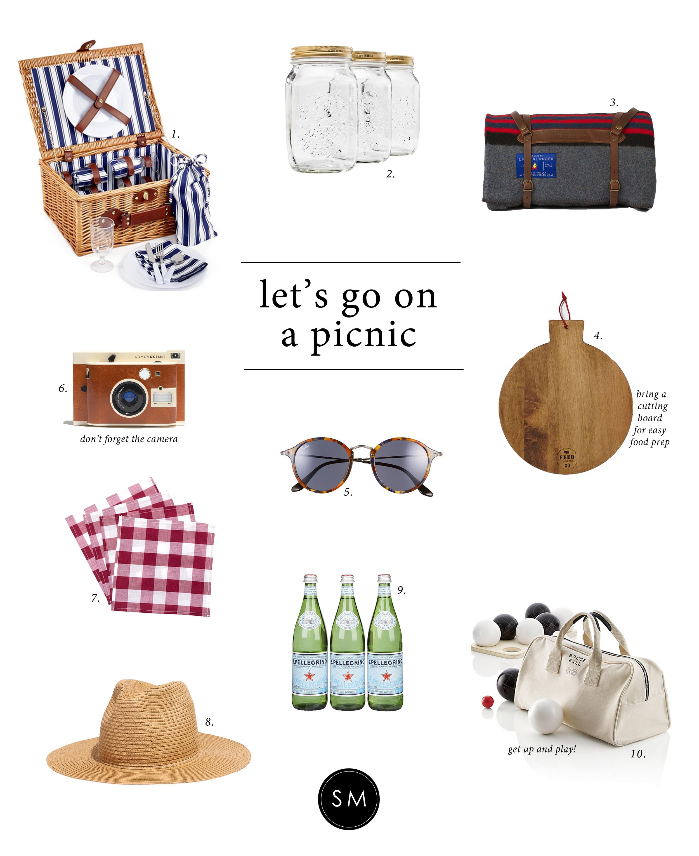 """Studio McGee's favorite picnic """"necessities"""""""