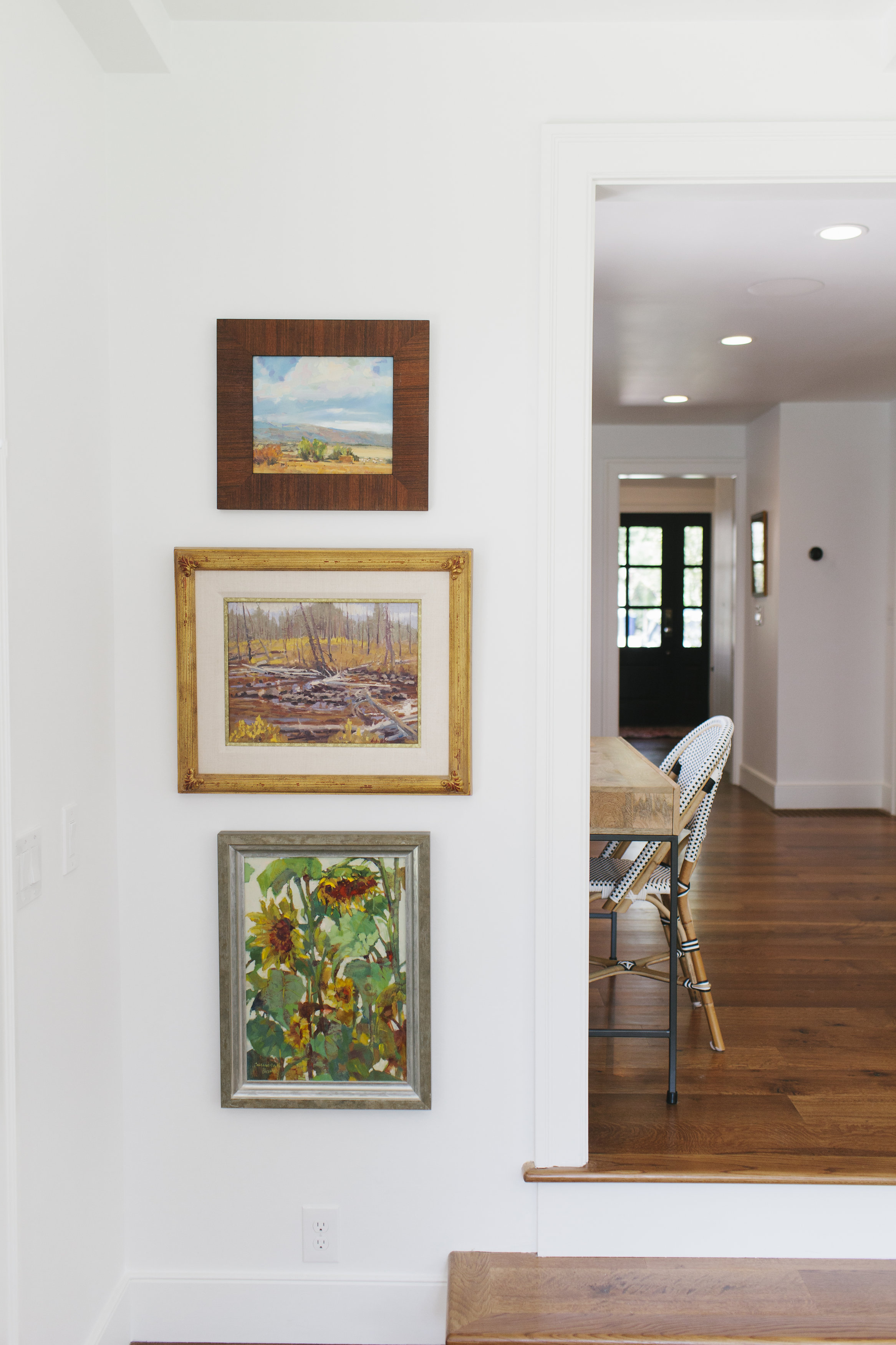 Floor-to-ceiling collected art || Studio McGee