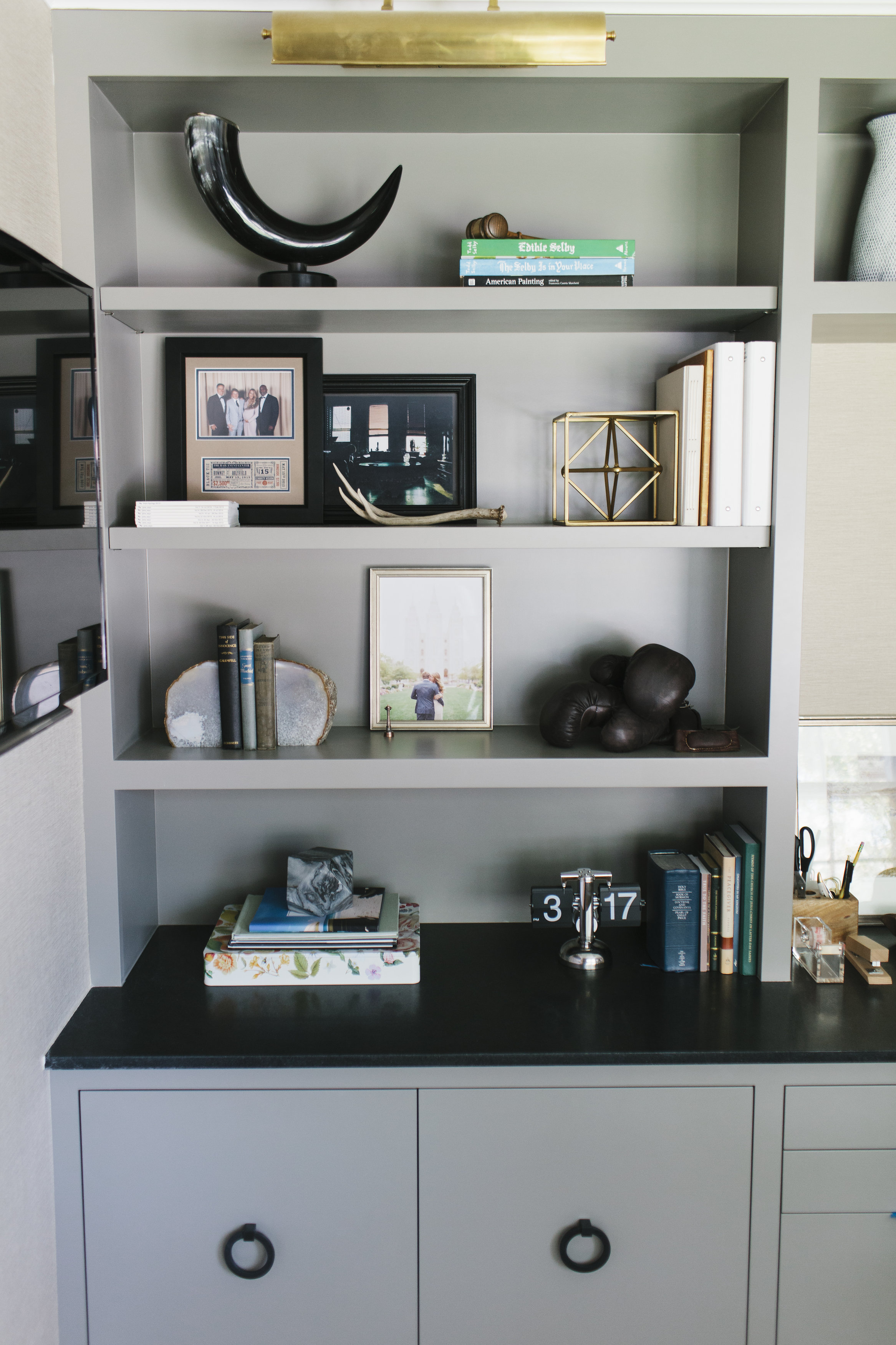 Collected built-in styling by Studio McGee
