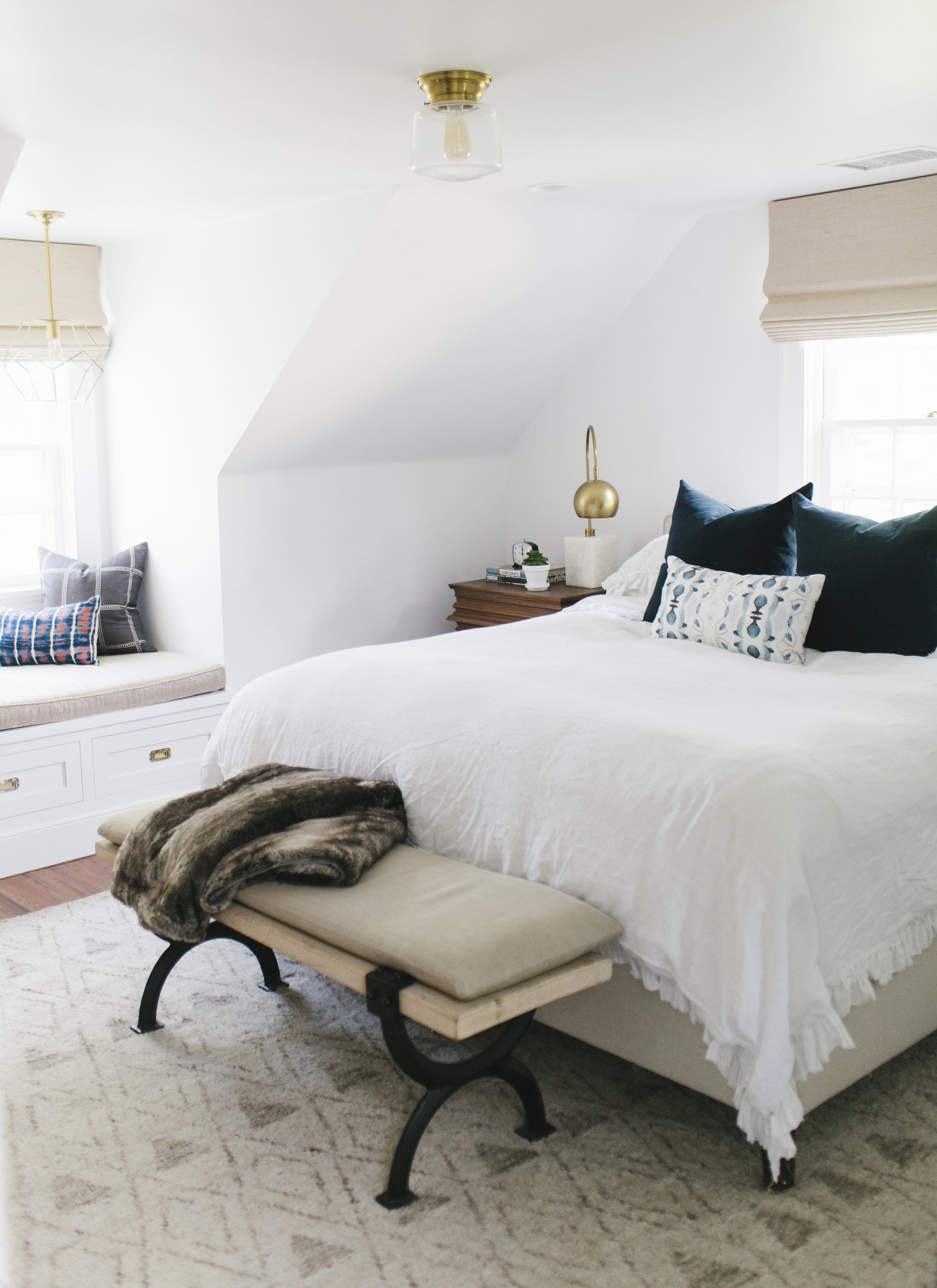 A Modern Master Bedroom Makeover by Studio McGee