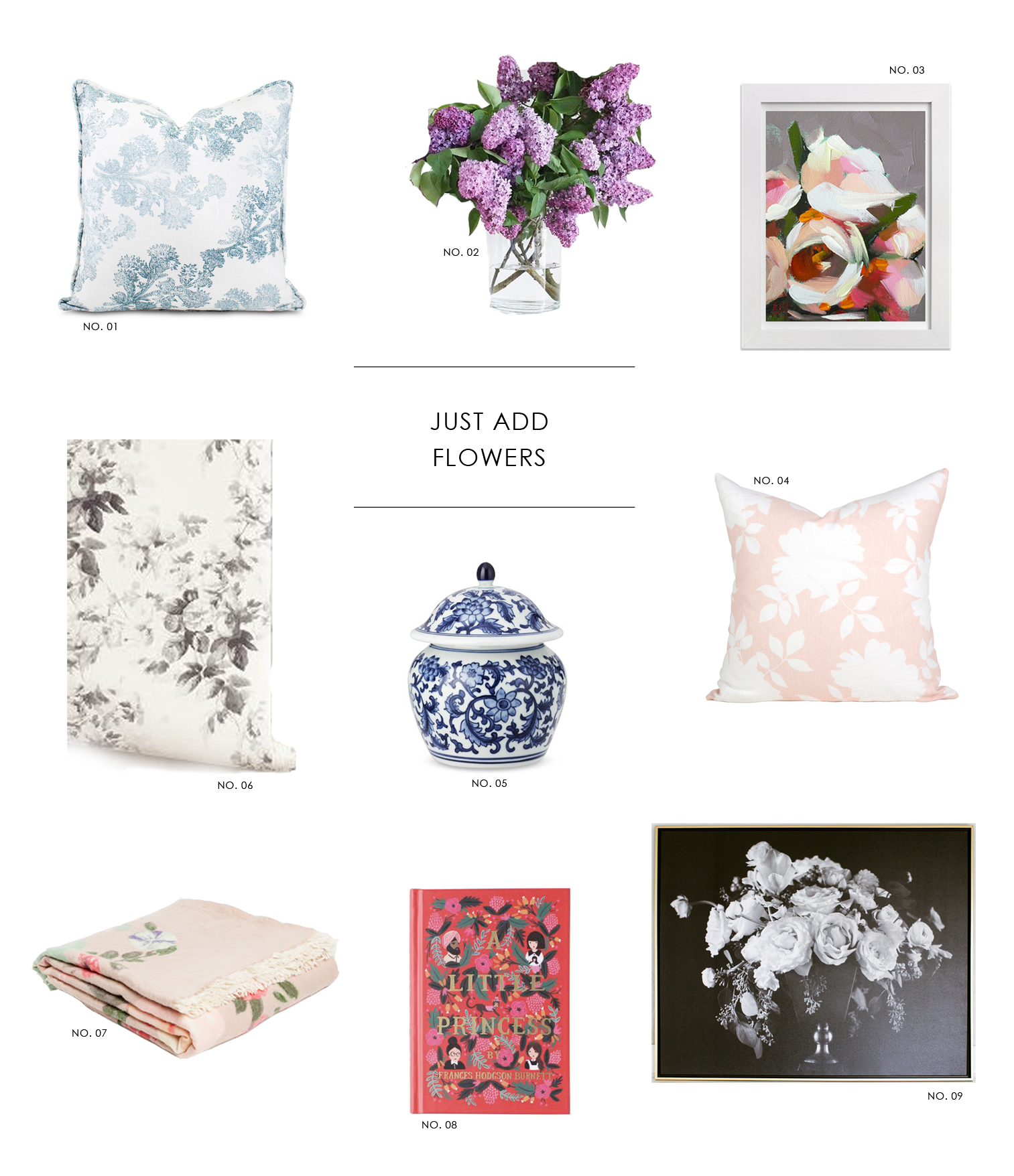 Just Add Flowers || Studio McGee's Top Picks for bringing floral into your decor
