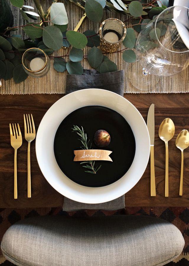 Holiday Table Setting || Studio McGee