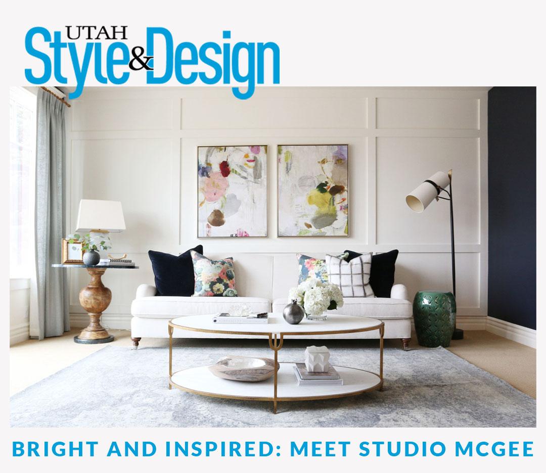 Studio McGee Featured on Utah Style & Design