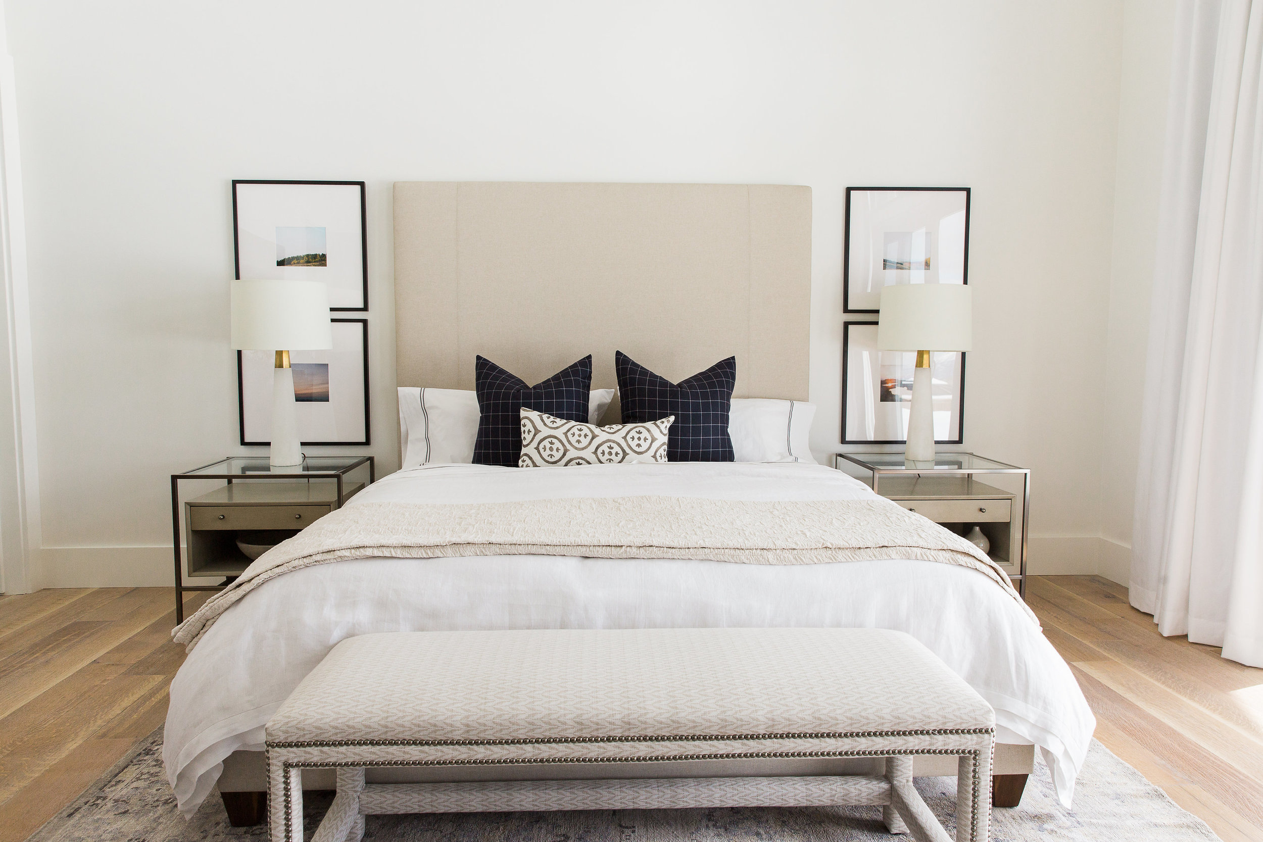 Neutral Master Bedroom || Studio McGee
