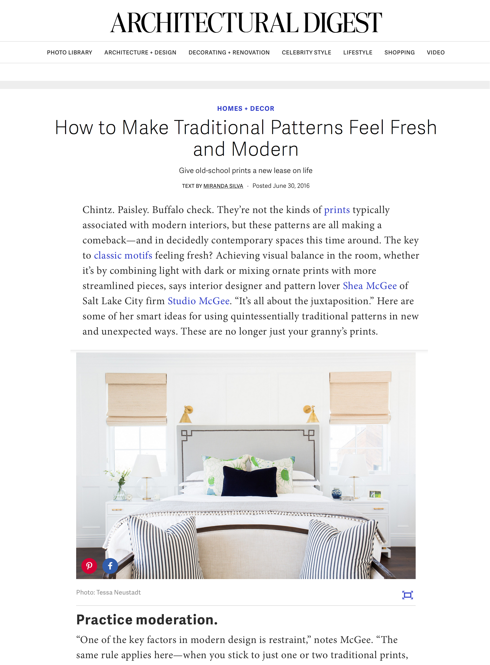 Studio McGee | Modern Room Ideas with Architectural Digest