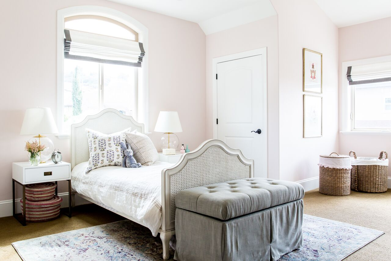 Renovated modern child's bedroom in Foothill house
