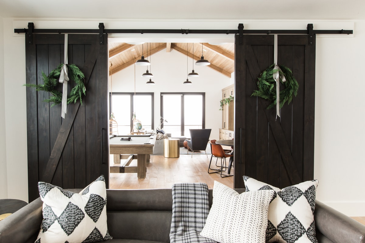 Holiday Living Room Decor