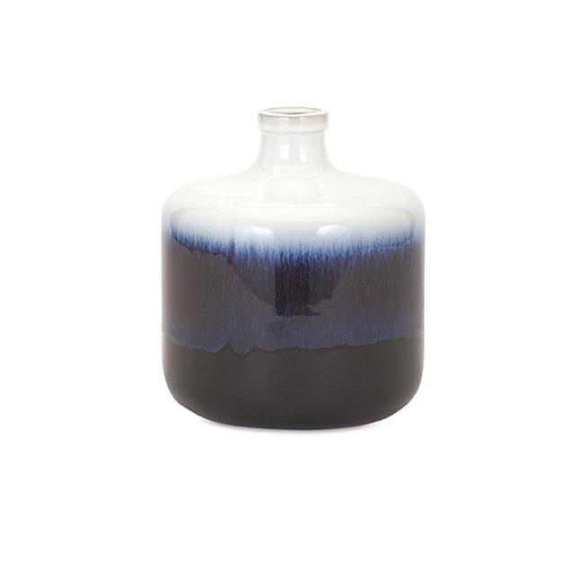 Based in Blue Vase