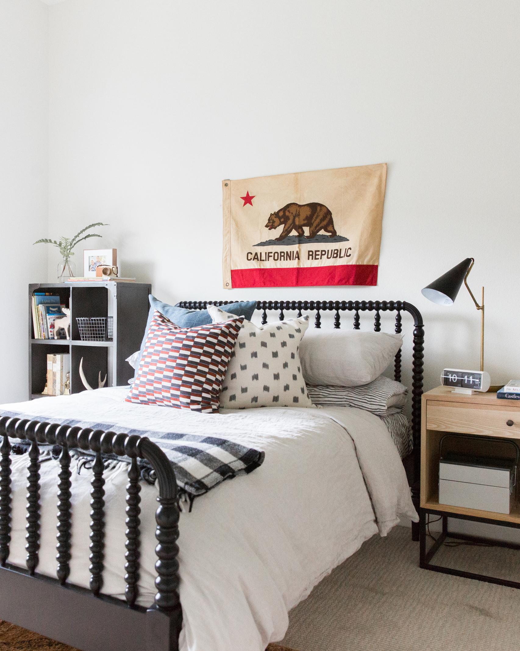Coastal Bohemian Kids' Bedroom