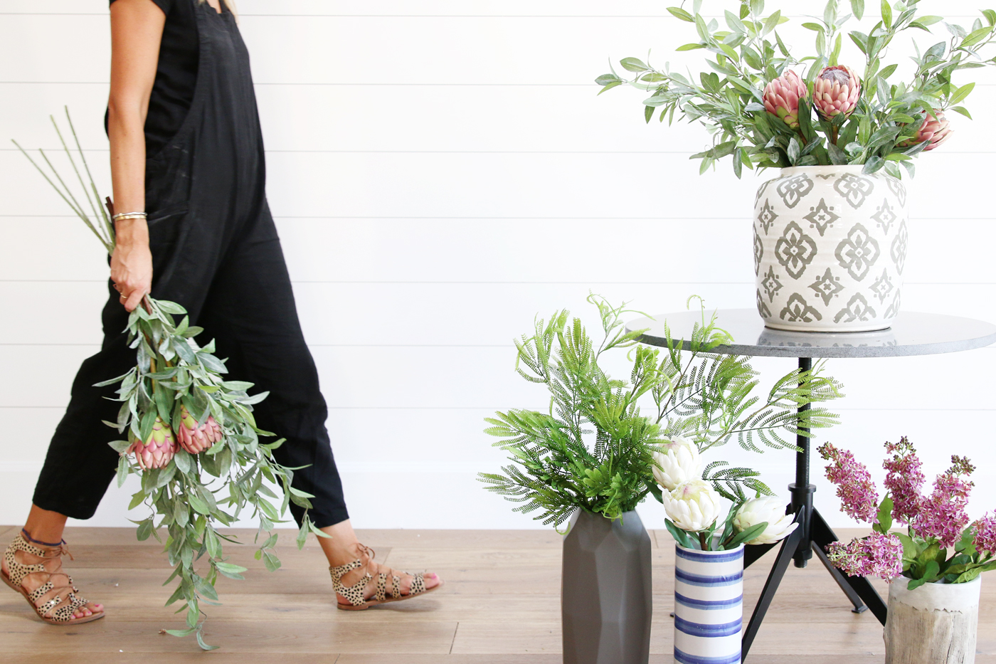 Guide to styling faux greenery