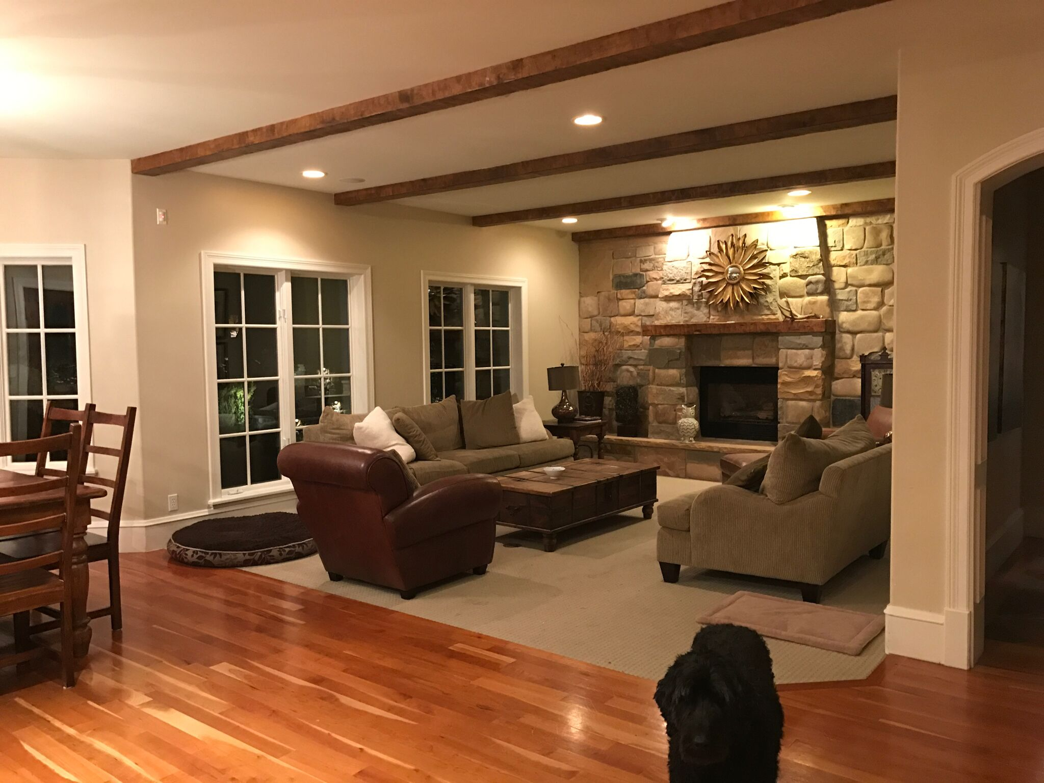 Riverbottoms Remodel Living Room Reveal