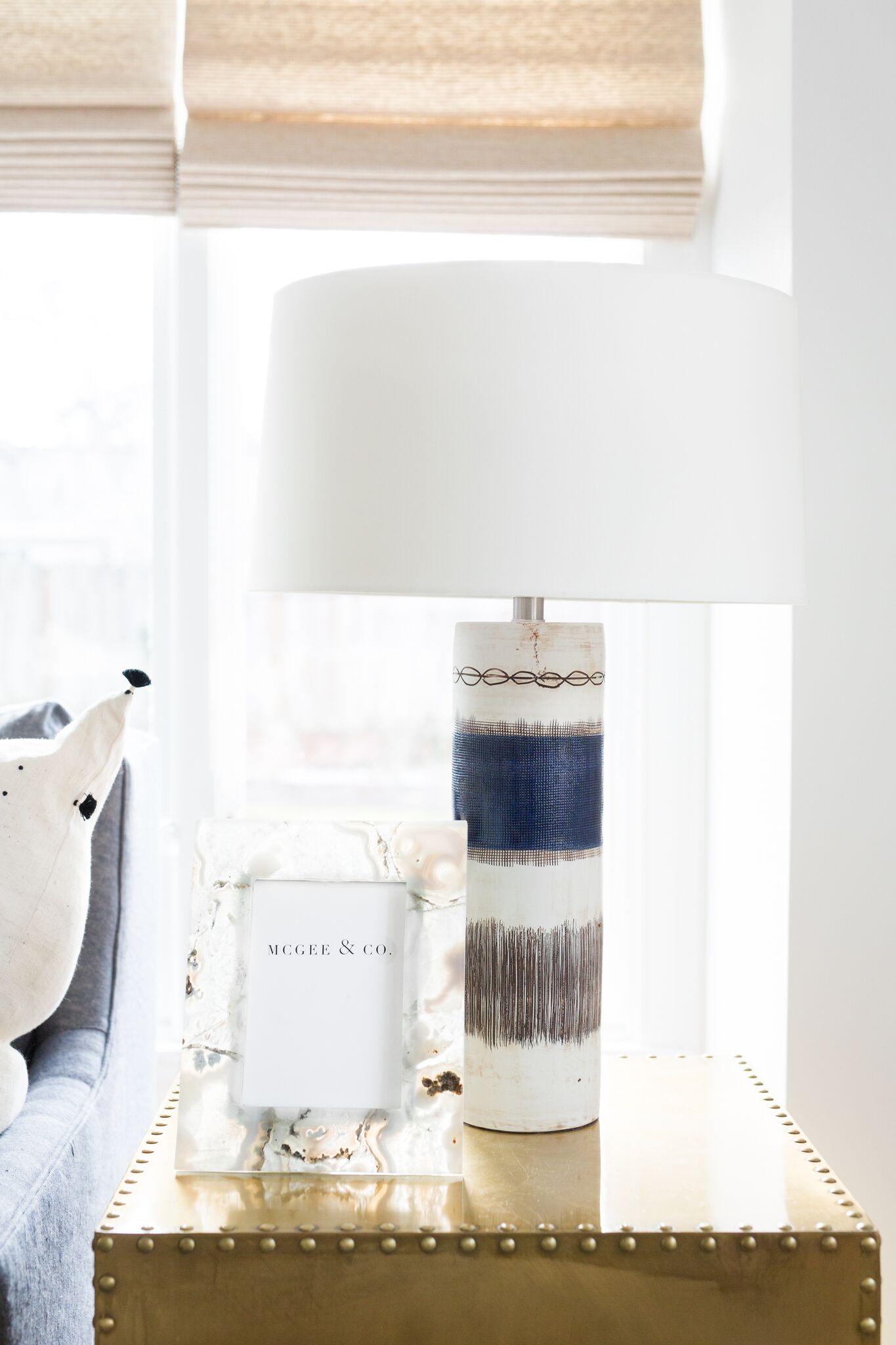 Shop  Mariella Lamp ,  Agate Frame