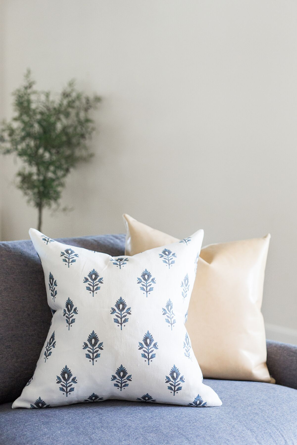 Shop Pillows:  Addison Block ,  Palomino Leather