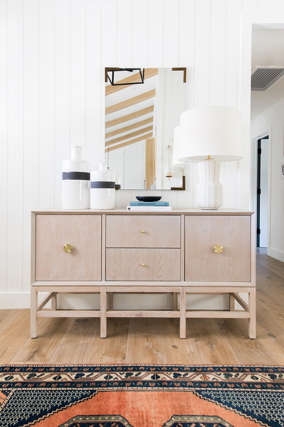 Console Styling | Vertical Paneling