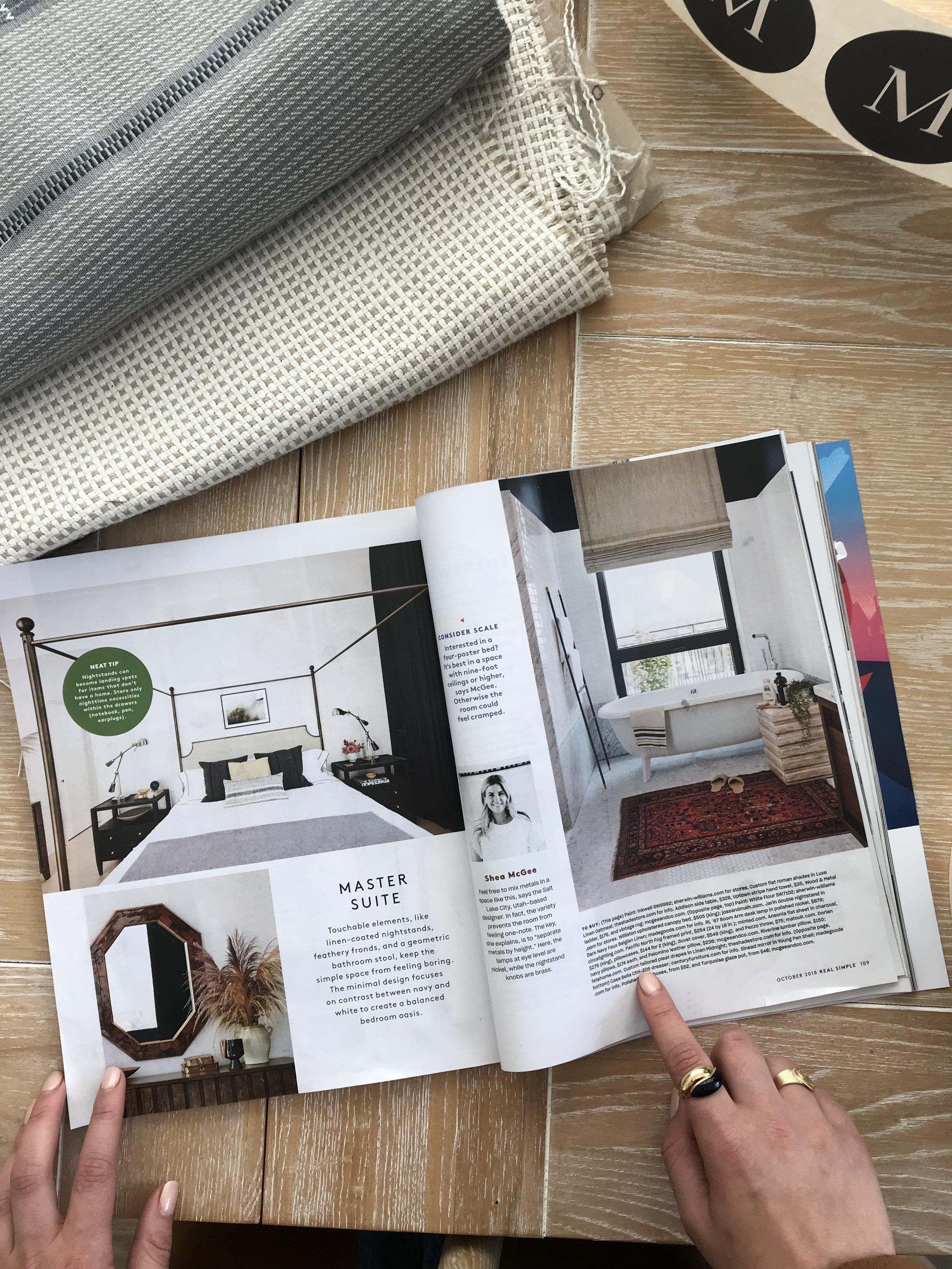 Studio McGee in Real Simple Magazine