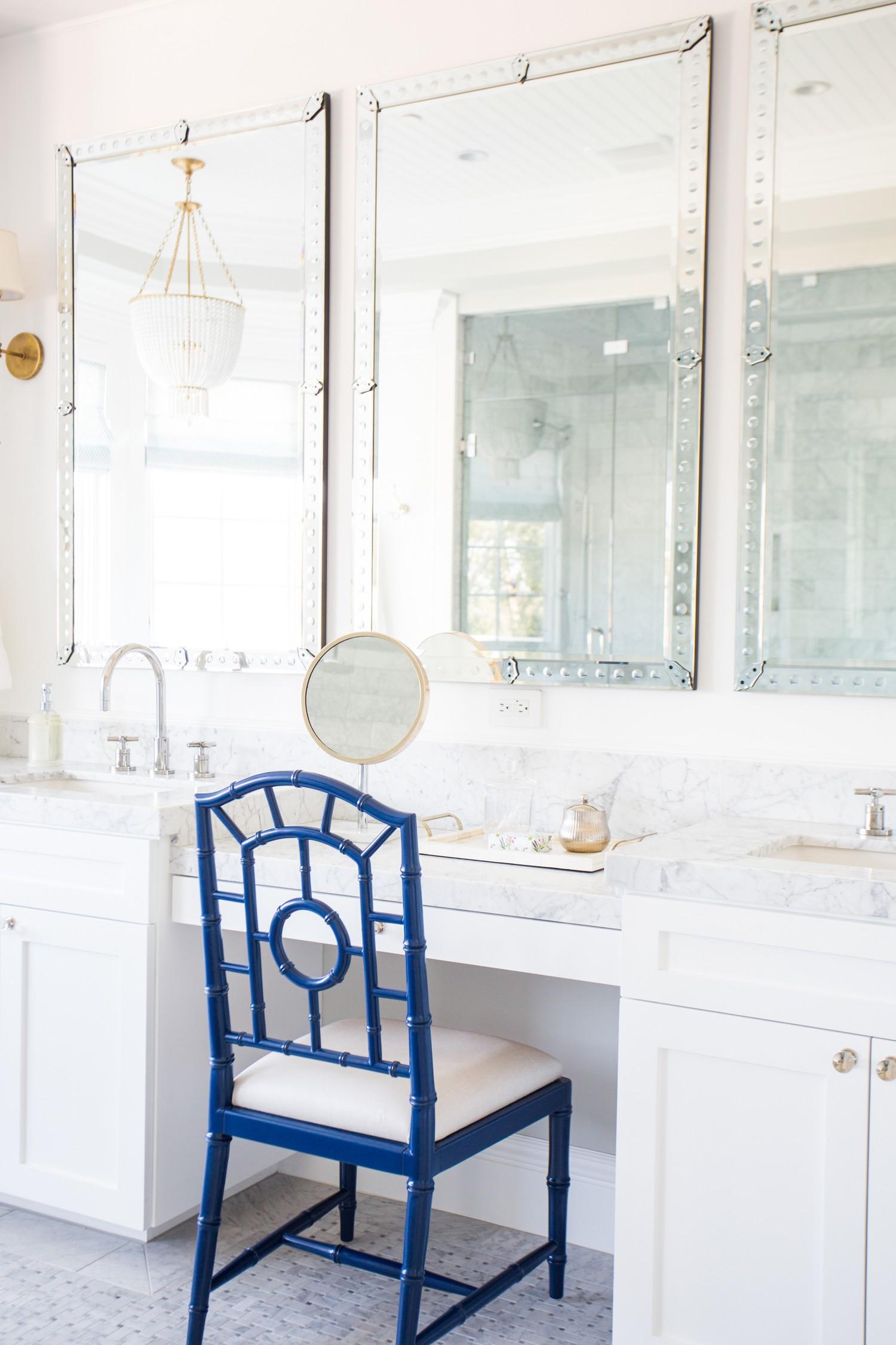 All+white+bathroom,+marble+basketweave+floors,+venetian+mirrors+__+Studio+McGee.jpg