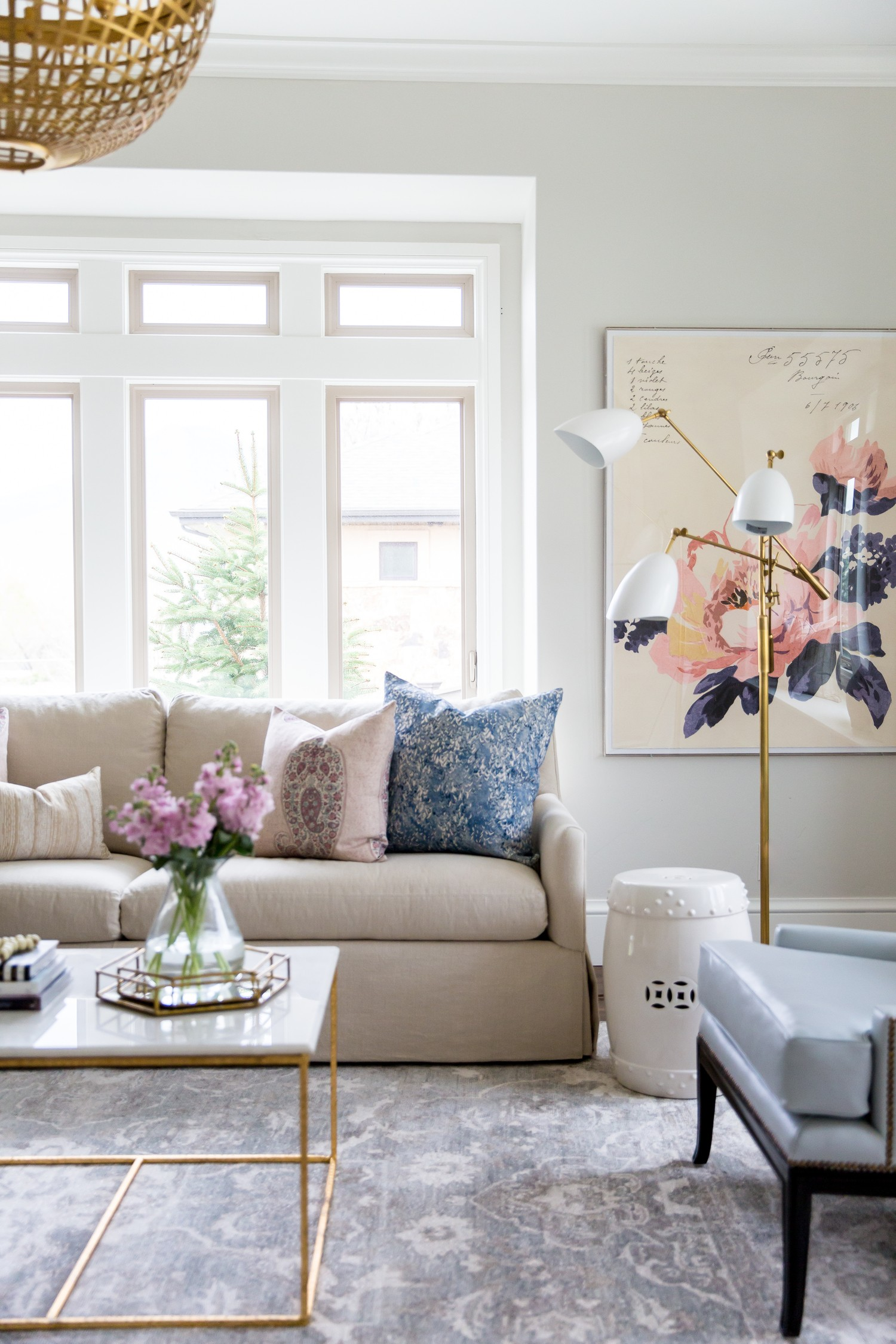 Large+Scale+Floral+Art+and+Modern+Lamp+__+Studio+McGee.jpg