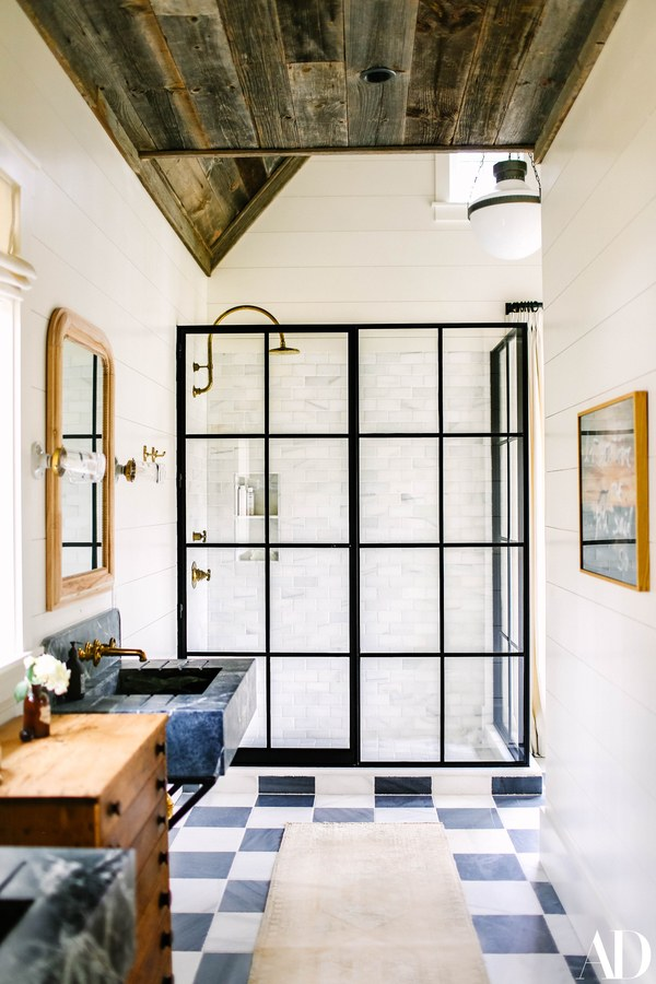 Design by Brooklyn Decker, via  Architectural Digest