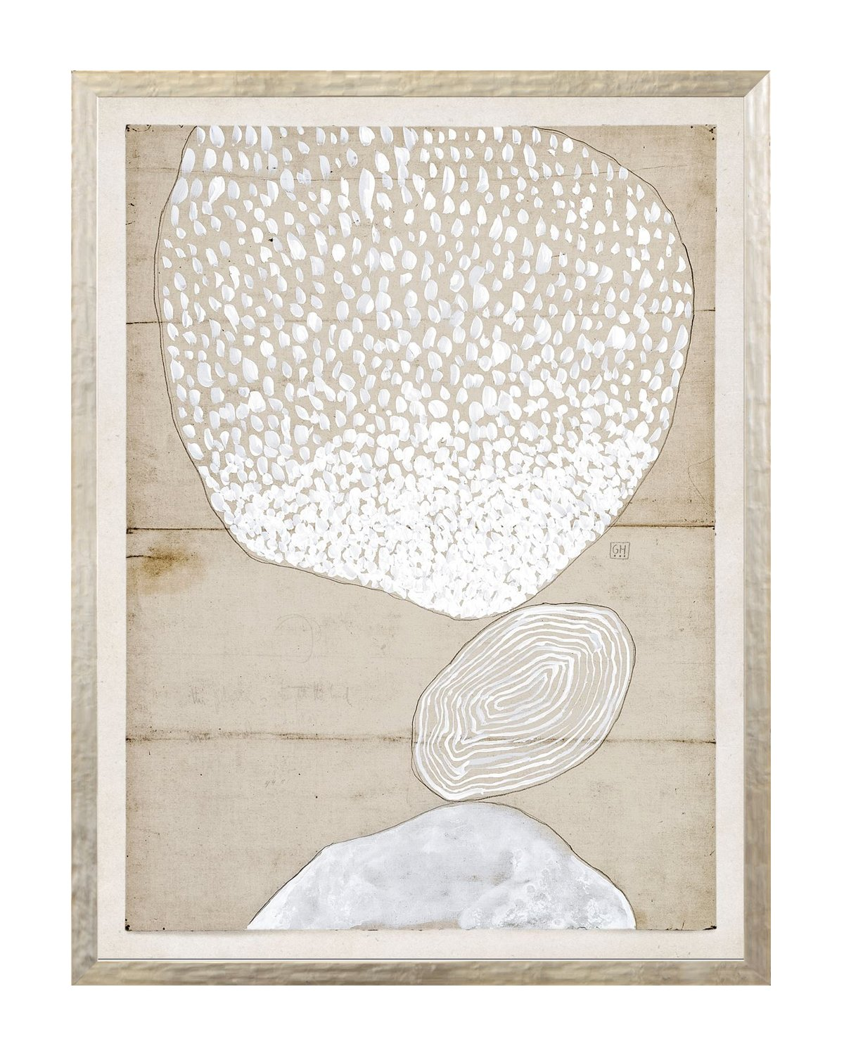 Beige Abstract 9