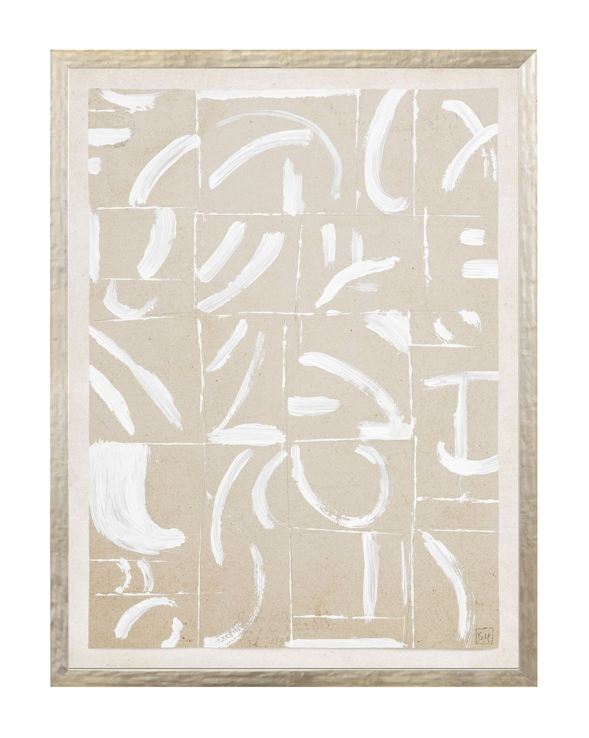 Beige Abstract 7