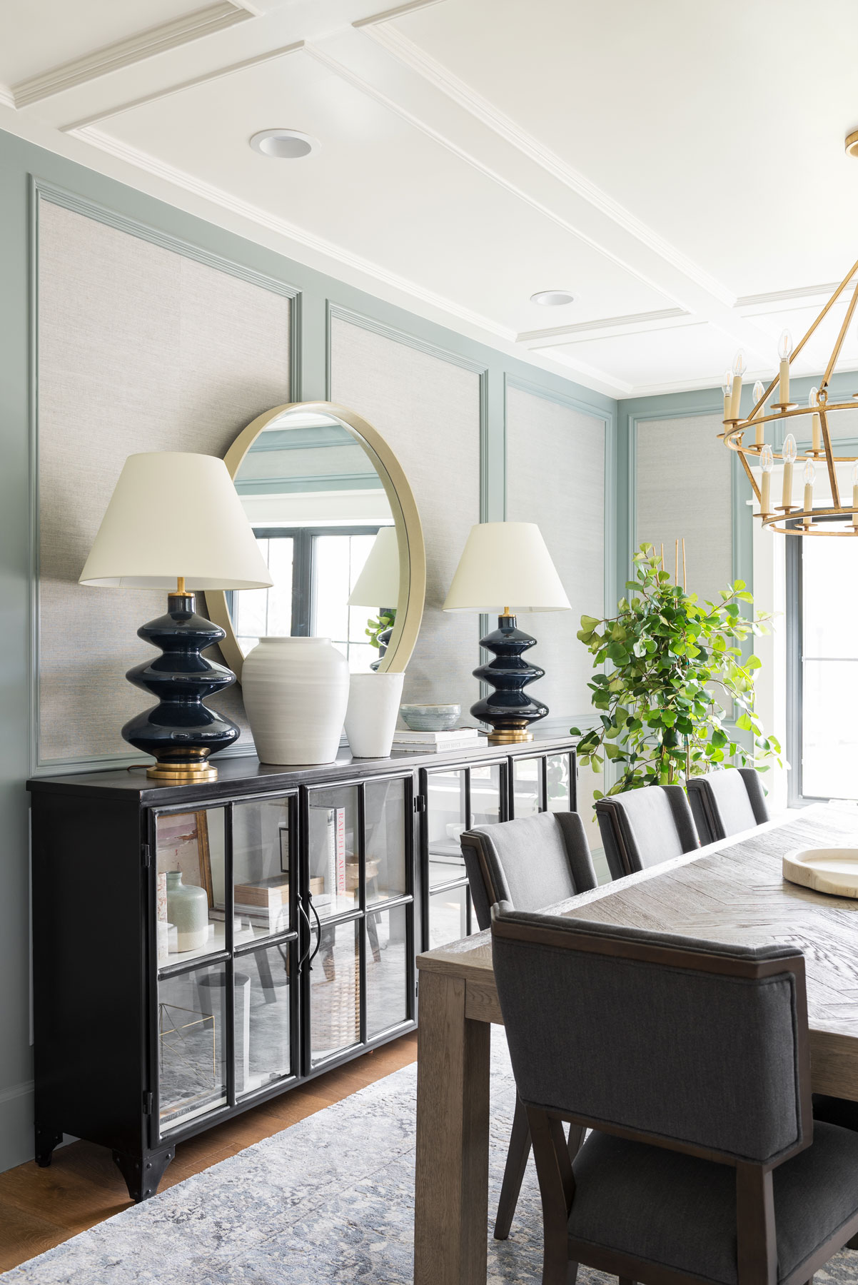 Northridge Remodel: The Entry + Dining