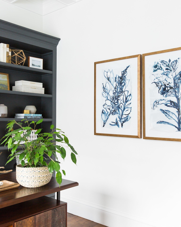 Indio Botanical 1  &  Indigo Botanical 2