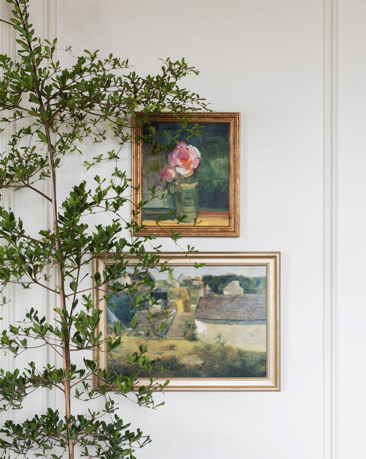 Blush Bloom  +  Village Impression