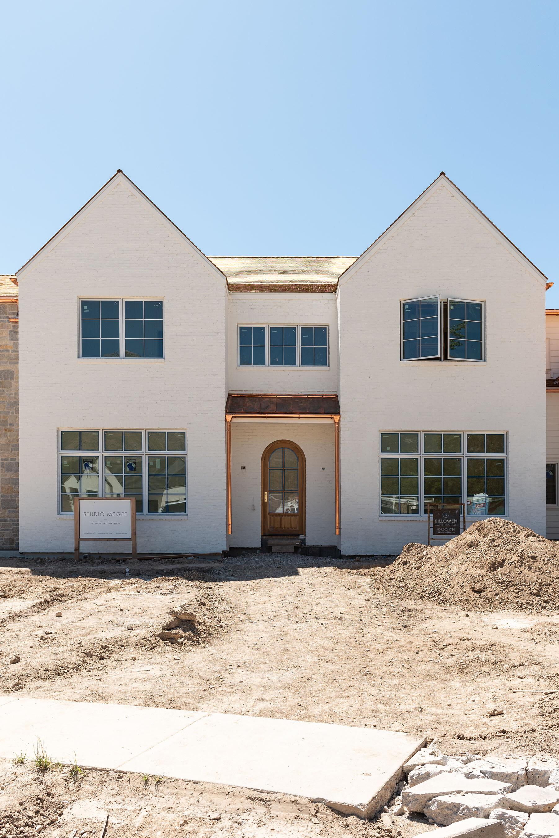 The McGee Home! Design by  Killowen Construction .