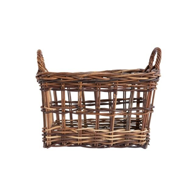 Kitchen Hutch Cabinets Styling Baskets.