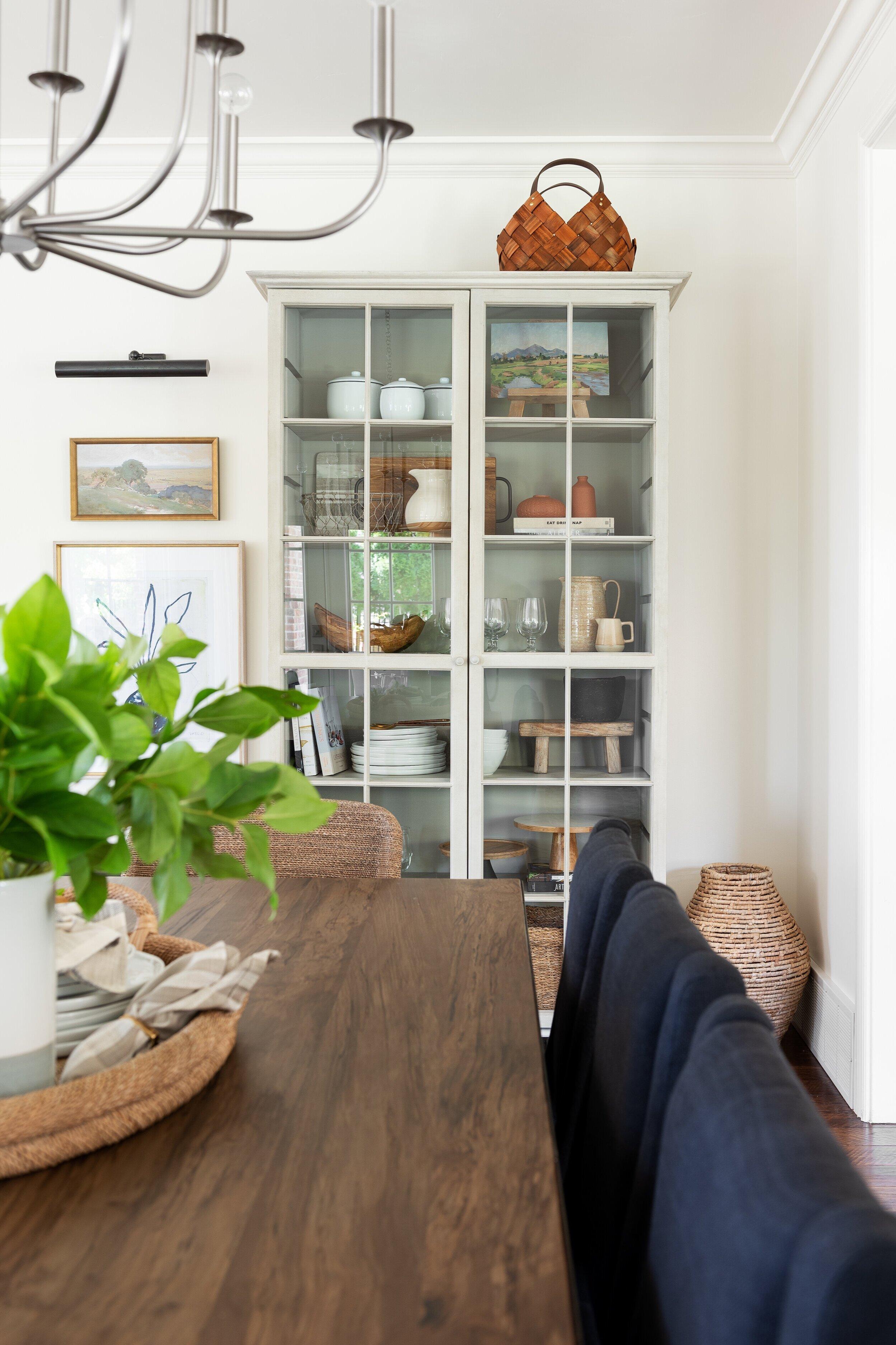 Timeless kitchen hutch