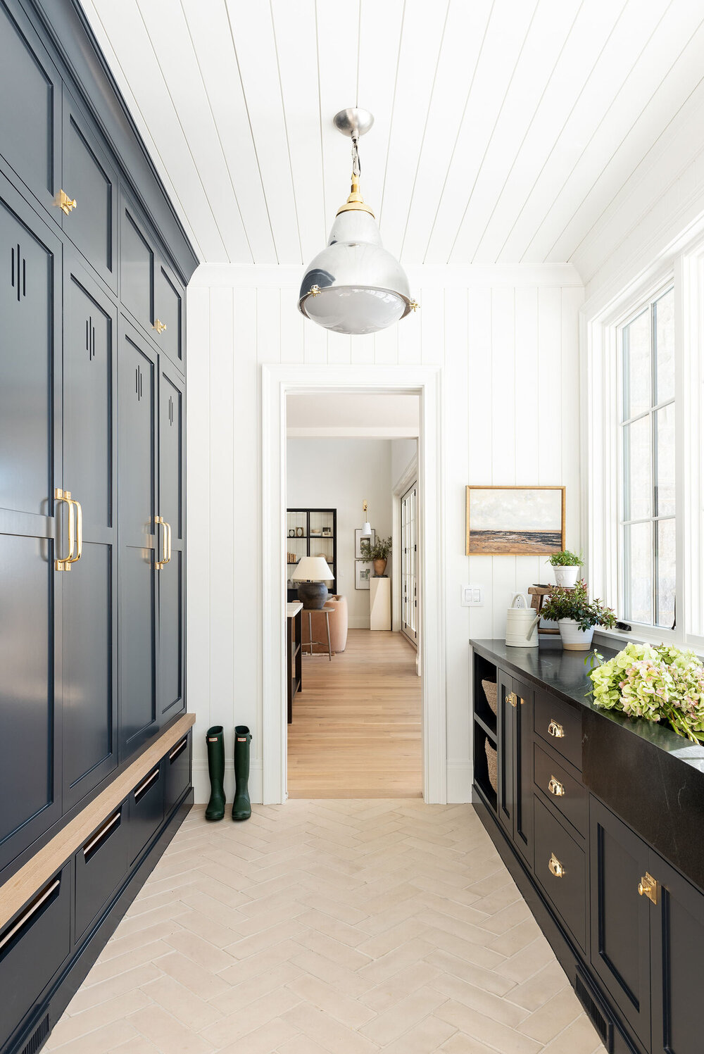 The McGee Home Mudroom.