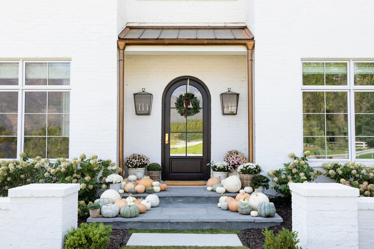 The McGee Home: Our Fall Front Porch Look
