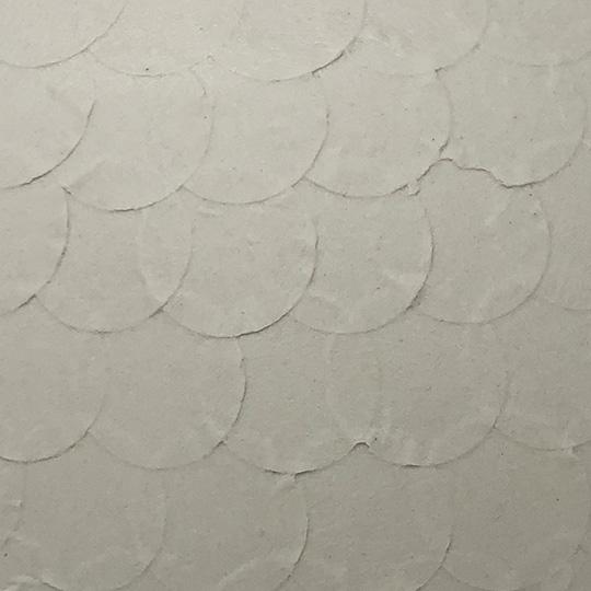 White Raw Porcelain - Dots