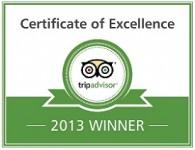 TripAdvisor 2013 Winner