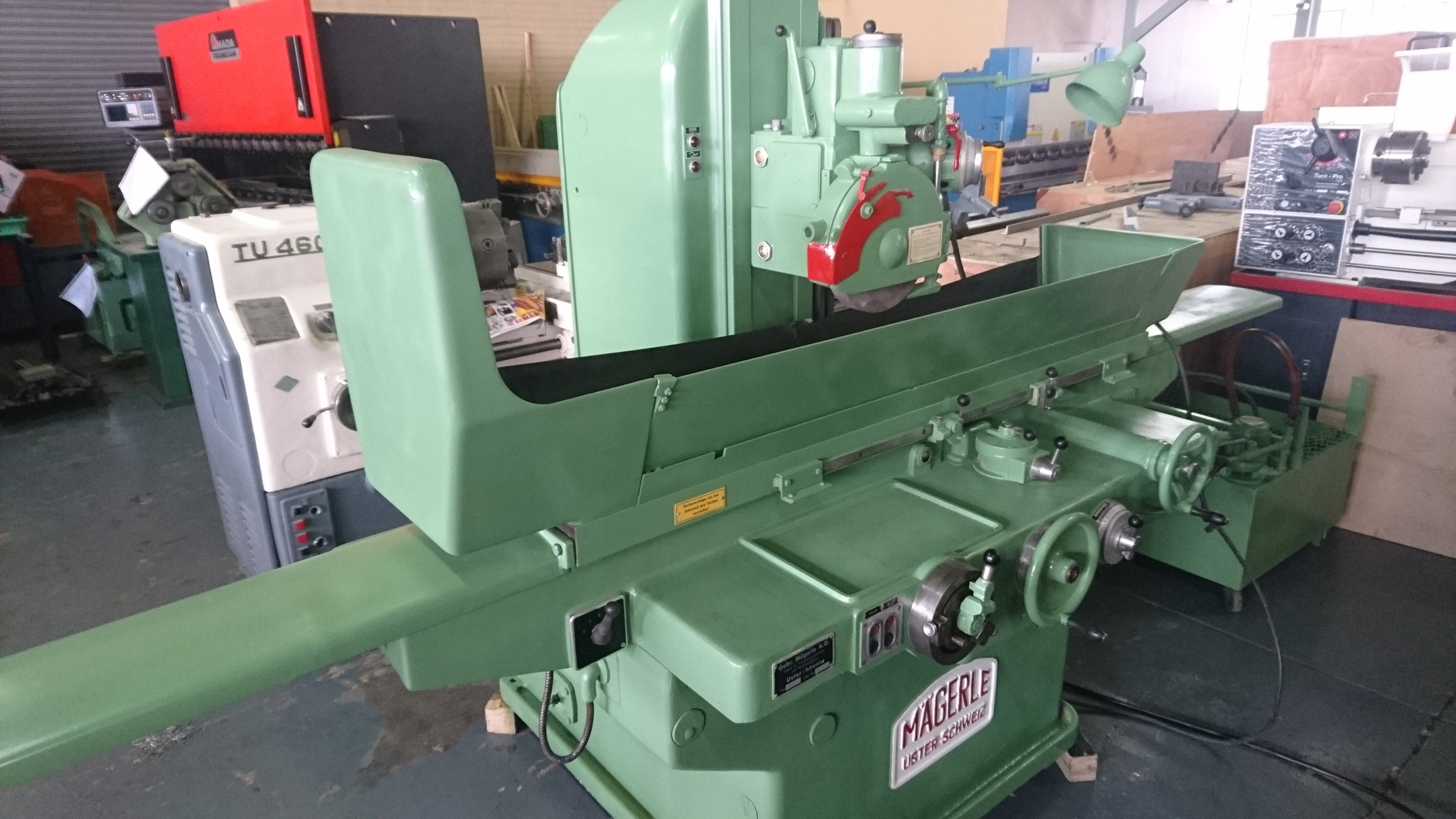 Magerle Surface Grinder