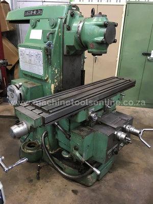 Used Milling Machine >> Used Lagun Ml 3a Universal Milling Machine Machine Tools Online