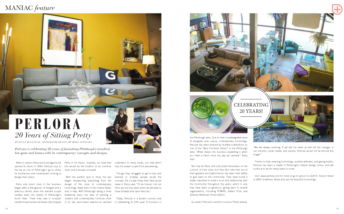 Maniac Magazine - Perlora Feature